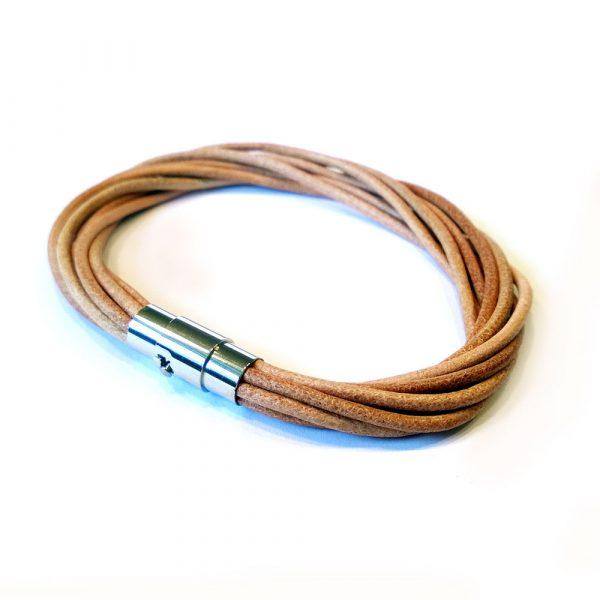 multistrang lederarmband