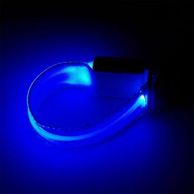 led leuchtarmband blau im dunkeln