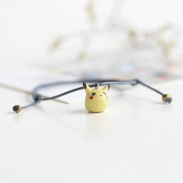 pikachu armband handgemacht keramik