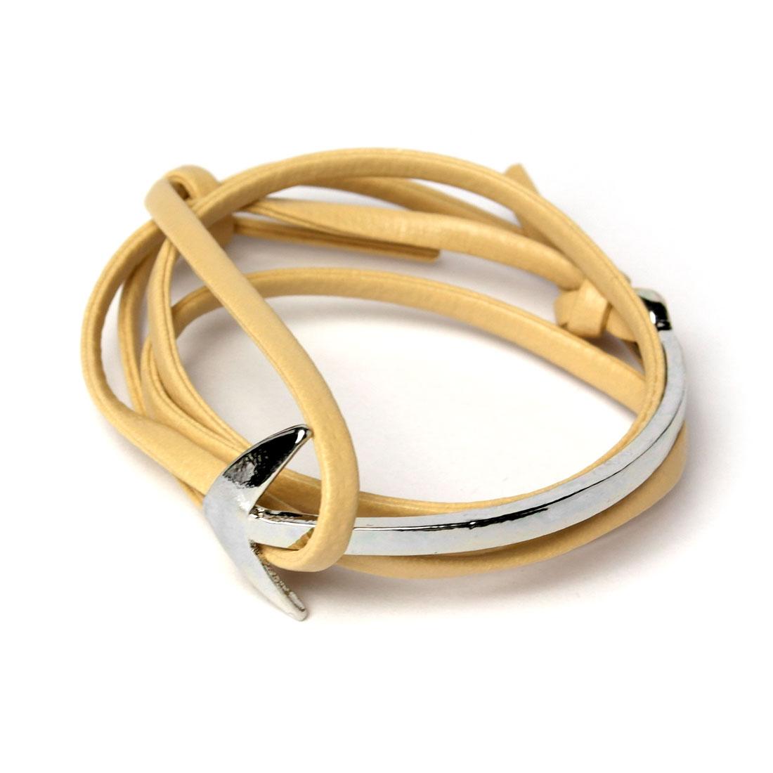 anker armband silber leder damen armband onlineshop. Black Bedroom Furniture Sets. Home Design Ideas