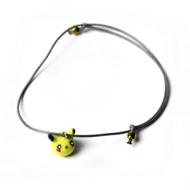 pikachu pokemon armband kinder nerd ton schnur