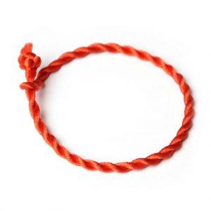 kabbala armband rot dünn schnur