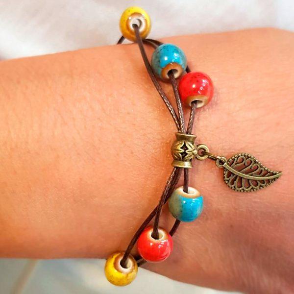 keramik perlen armband 2