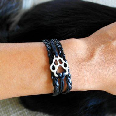 pfoten armband hund 1