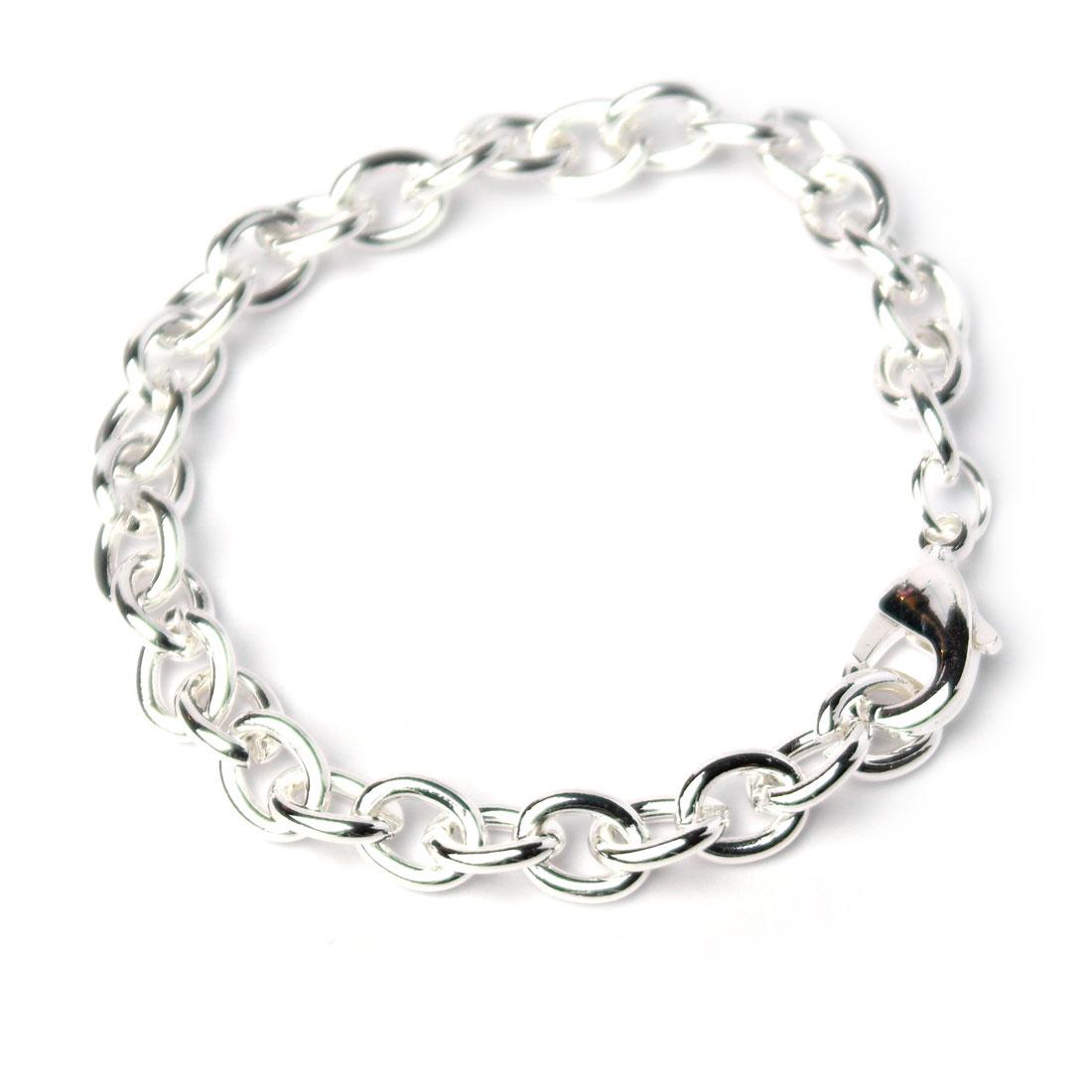 am besten einkaufen Details für Genieße am niedrigsten Preis Edles Damen Glieder-Armband 925 silber plated