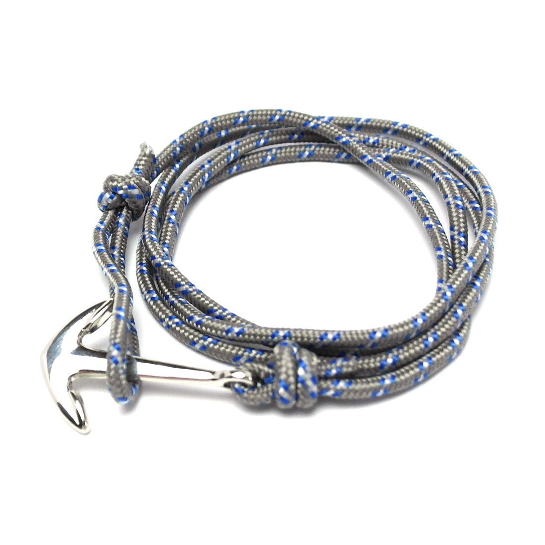 Popular Herren Anker Armband mit grauem Band   Armband-Dealer.de Onlineshop DC82