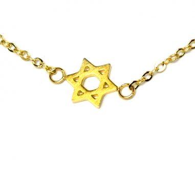 armband davidstern gold zart 3 1