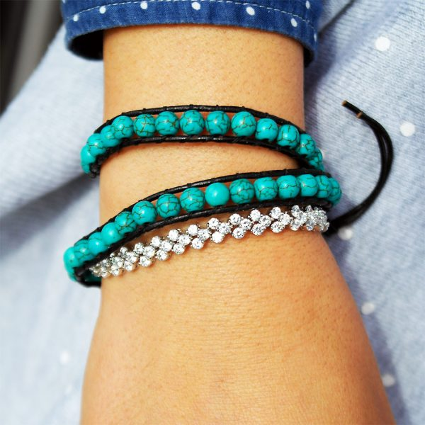 damen-armband-zirkonia-silber-tuerkis-wrap
