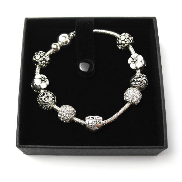 armband silber geschenk charme 1
