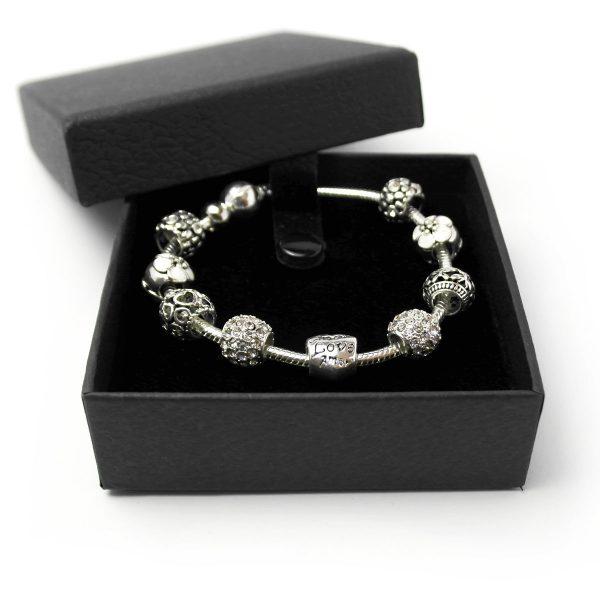 armband silber geschenk charme