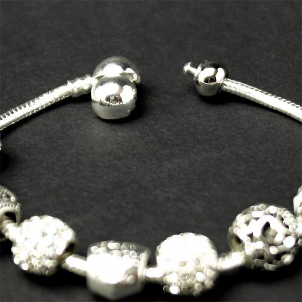 armband silber geschenk charme detail 3