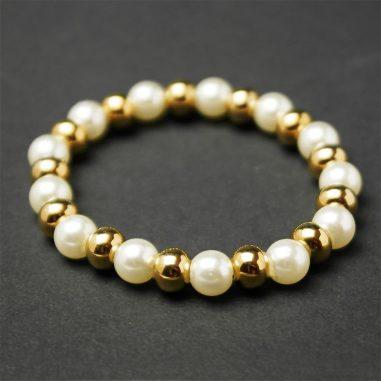 armband gold perlen