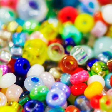 Rocailles Perlen Armbänder