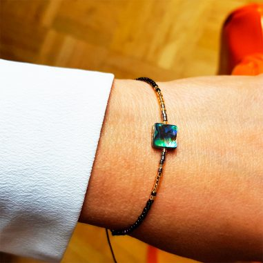 abalone damen armband