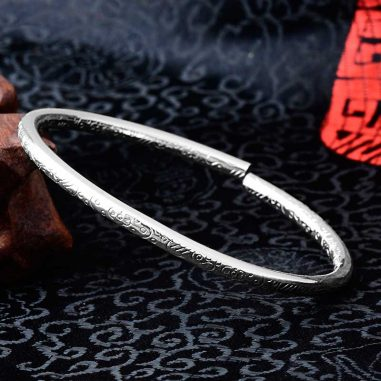 armreif silber ornament