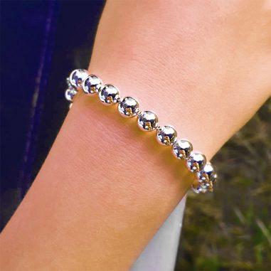 armband kugelkette silber armband