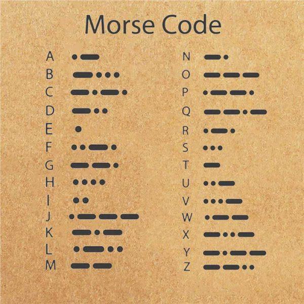 morse alphabet code zeichen