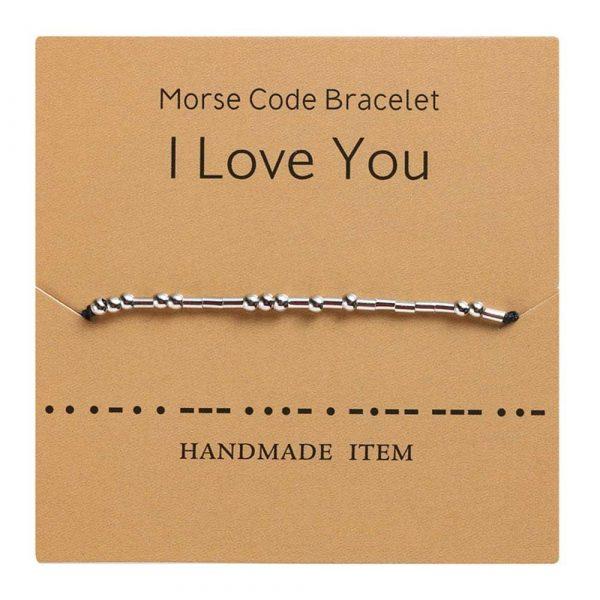 morsezeichen armband i love you ild