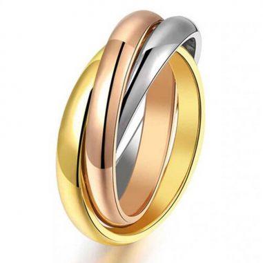 triple dreifach ring ineinander