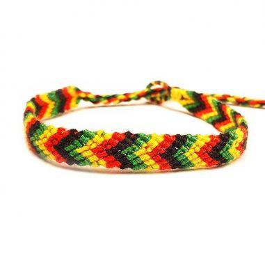 reggae rasta armband geflochten freundschaft