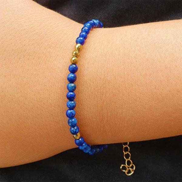 lapislazuli armband damen gold